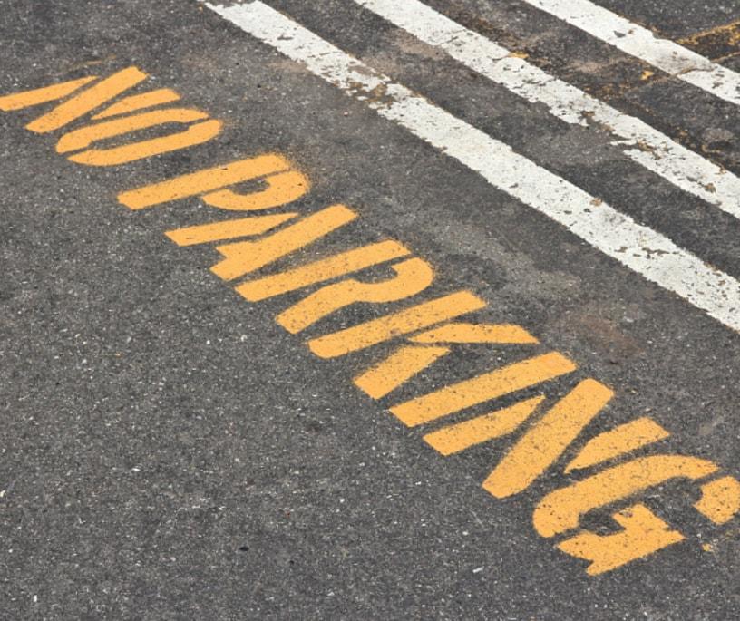 Σε ποια σημεία είναι παράνομη η στάθμευση;