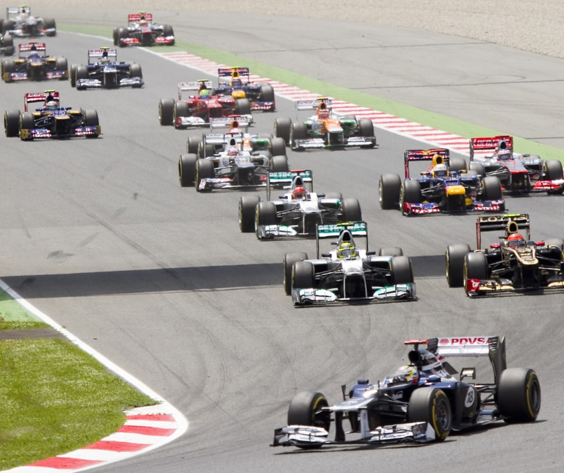 F1 1990-1999