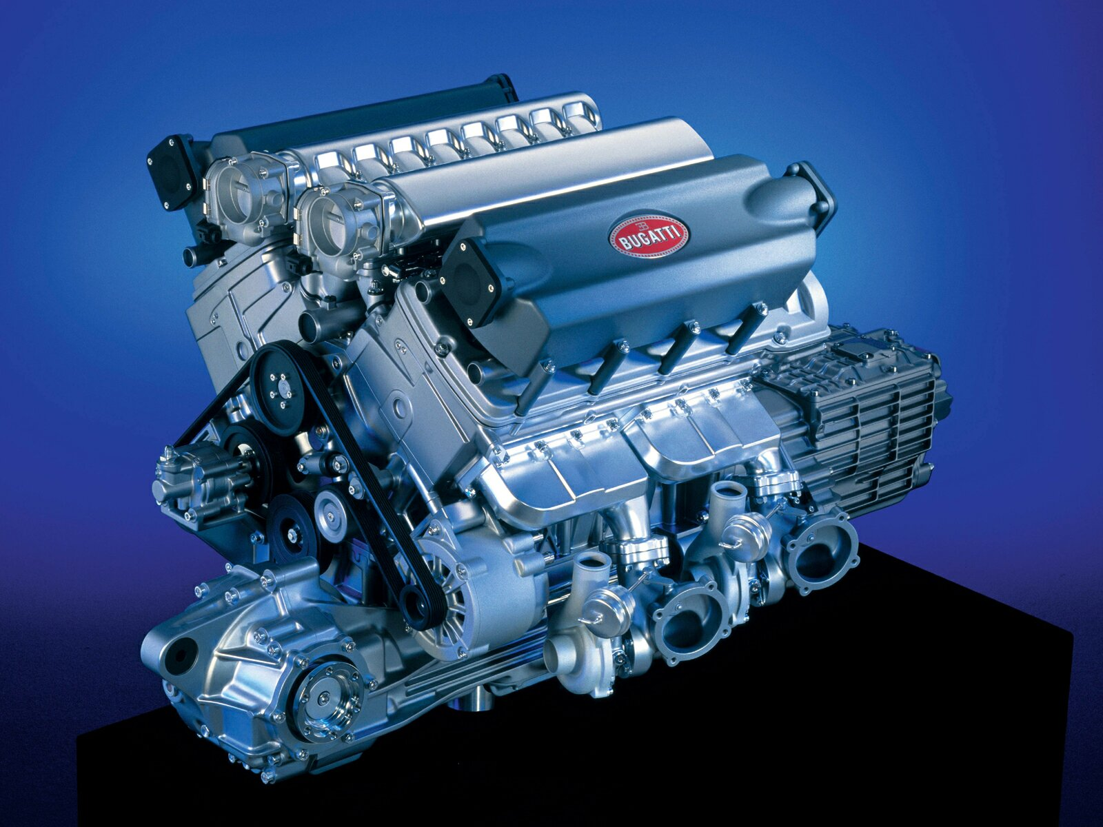 Πως συναρμολογείται η μηχανή της Bugatti Veyron;