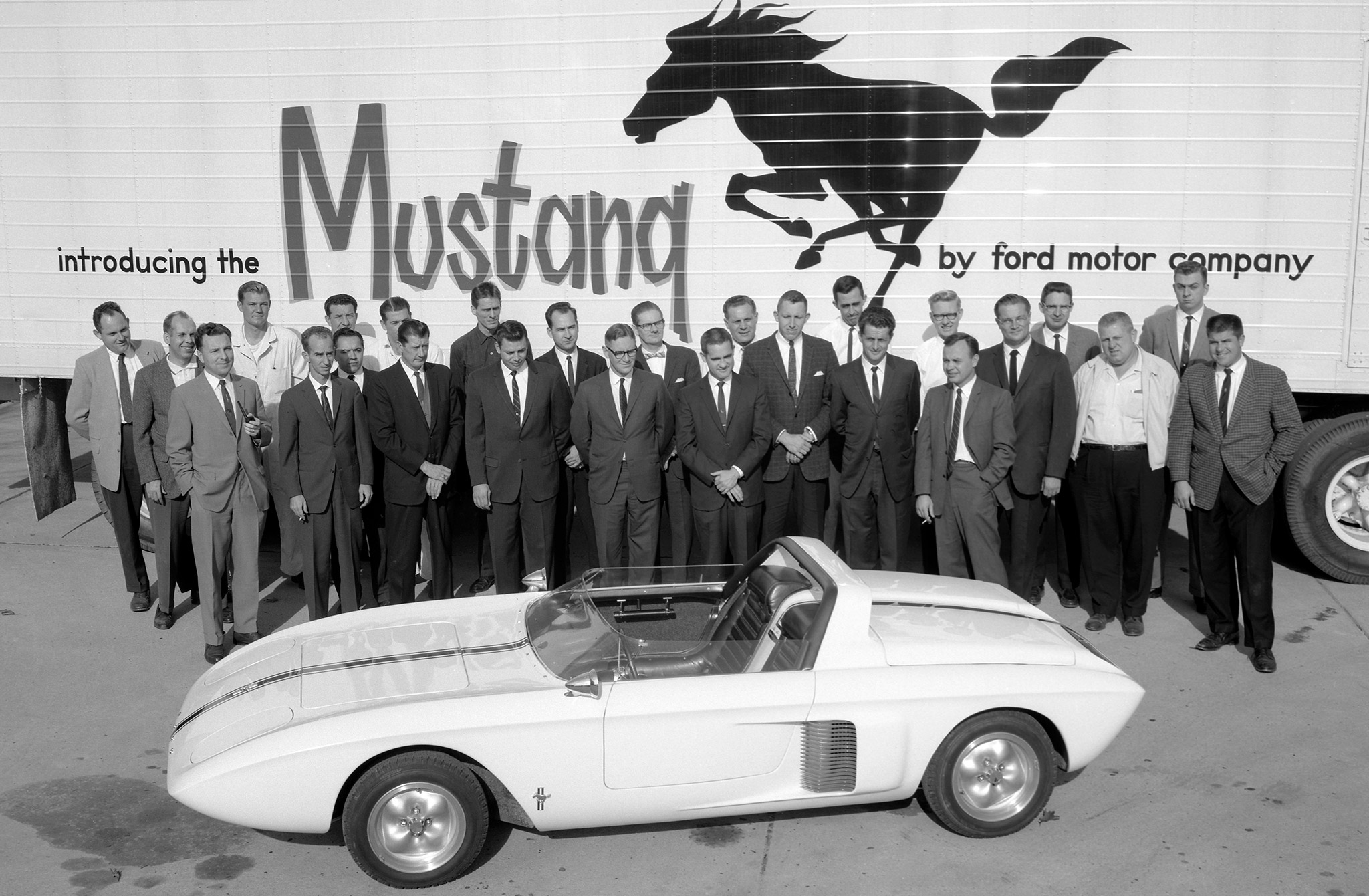 Ford Mustang 1962 concept