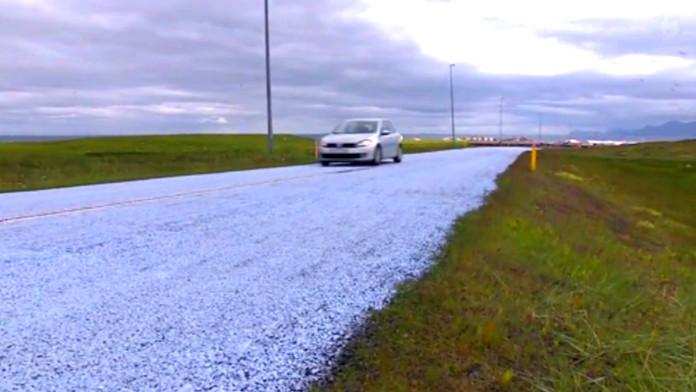 Δρόμοι στην Ισλανδία αλλάζουν χρώμα για την προστασία της τοπικής πανίδας