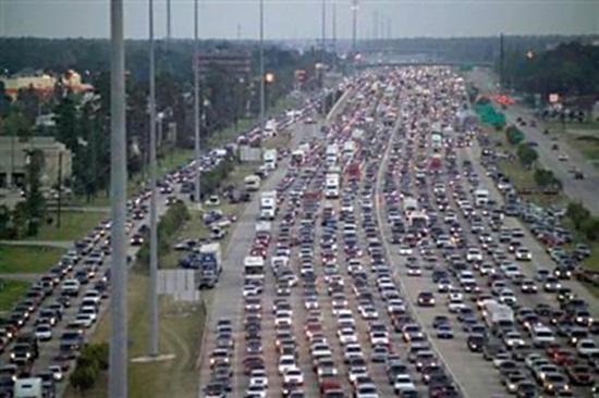 texas traffic jam