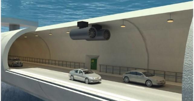 Αιωρούμενο και υποβρύχιο το τούνελ που σκέφτονται να φτιάξουν στη Νορβηγία!